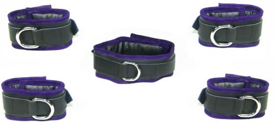Purple edged restraint set