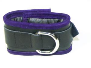 Purple edged cuffs
