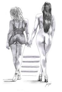 Illustration from Naked Delirium