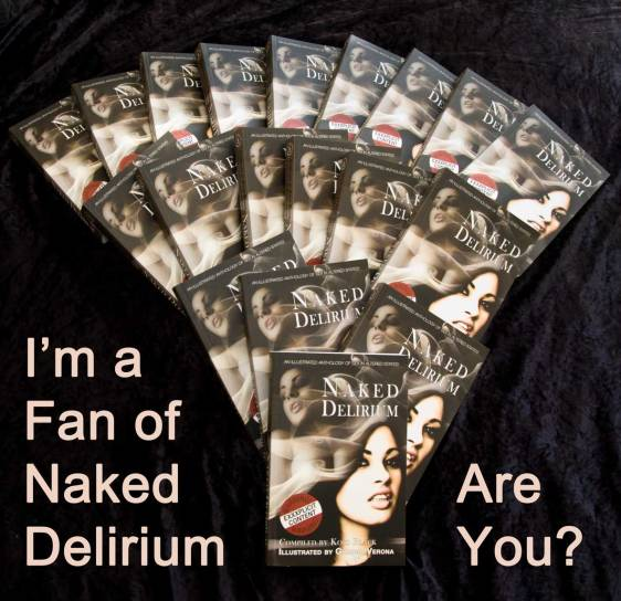 Naked Delirium cover arrangement